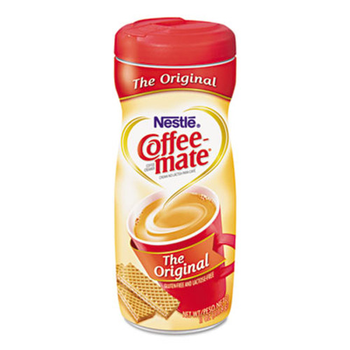 Coffee-mate Non-Dairy Powdered Creamer, Original, 22 oz Canister, 12/Carton (NES30212CT)