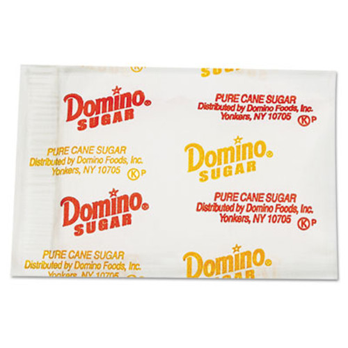 Domino Sugar Portion Packets, 0.1 oz Packets, 2000/Carton (DMN845354)