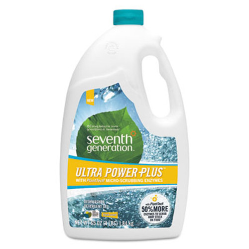 Seventh Generation Natural Automatic Dishwasher Gel, Ultra Power Plus, Fresh Scent, 65 oz Bottle (SEV22929)
