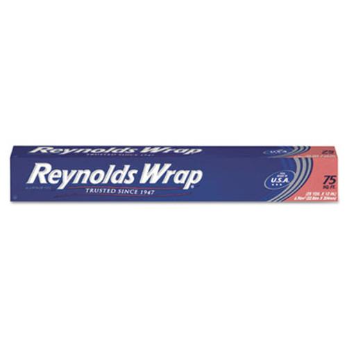 Reynolds Wrap Standard Aluminum Foil Roll  12  x 75 ft  Silver (RFPF28015)