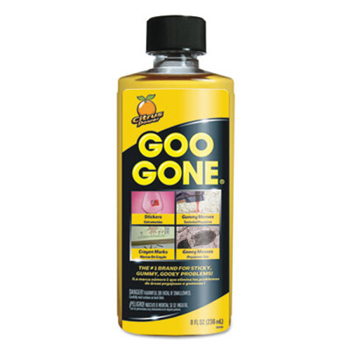 Goo Gone Original Cleaner  Citrus Scent  8 oz Bottle  12 Carton (WMN2087)