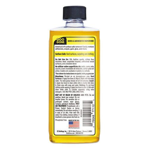Goo Gone Original Cleaner  Citrus Scent  8 oz Bottle  12 Carton (WMN2087)