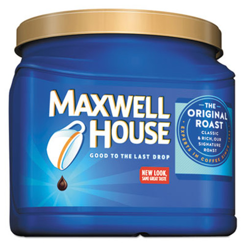 Maxwell House Coffee  Ground  Original Roast  30 6 oz Canister  6 Canisters Carton (MWH04648CT)