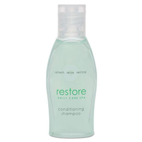 Dial Amenities Restore Conditioning Shampoo  Aloe  1 oz Bottle  Clean Scent  288 Carton (DIA06026)