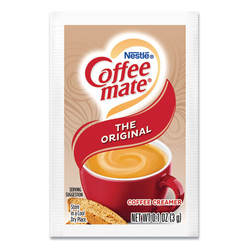 Coffee mate Non-Dairy Powdered Creamer  Original  3 g Packet  50 Box  20 Box Carton (NES30032CT)