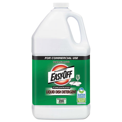 Professional EASY-OFF Liquid Dish Detergent Concentrate  1 gal Bottle (RAC89769EA)
