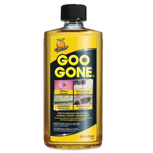 Goo Gone Original Cleaner, Citrus Scent, 8 oz Bottle (WMN2087EA)
