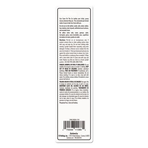 Goo Gone Mess-Free Pen Cleaner  Citrus Scent  0 34 Pen Applicator (WMN2100EA)