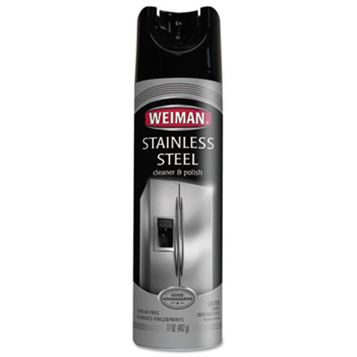 WEIMAN Stainless Steel Cleaner and Polish  17 oz Aerosol (WMN49)