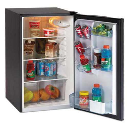 Avanti 4 4 CF Auto-Defrost Refrigerator  19 1 2 w x 22 d x 33 h  Black (AVAAR4446B)