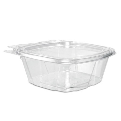 Dart ClearPac Container Lid Combo-Packs, 4.9 x 2 x 5.5, 12 oz, Clear, 200/Carton (DCCCH12DEF)