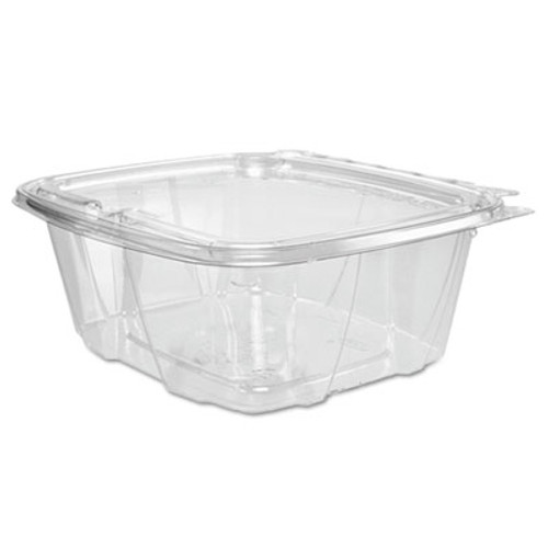 Dart ClearPac Container Lid Combo-Packs, 6.4 x 2.6 x 7.1, 32 oz, Clear, 200/Carton (DCCCH32DEF)