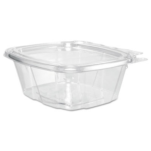 Dart ClearPac Container Lid Combo-Packs, 4.9 x 2.5 x 5.5, 16 oz, Clear, 200/Carton (DCCCH16DEF)