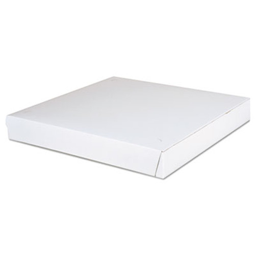 SCT Paperboard Pizza Boxes,14 x 14 x 1 7/8, White, 100/Carton (SCH1465)