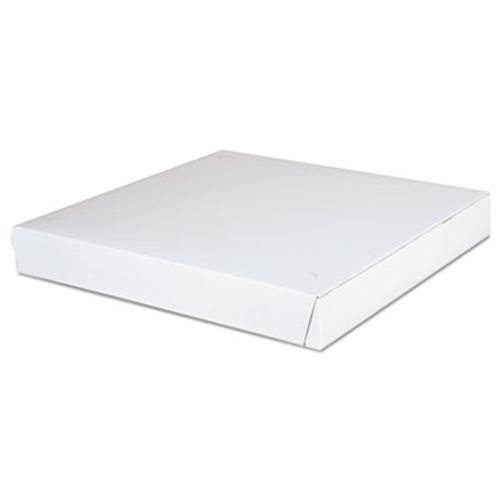 SCT Paperboard Pizza Boxes 14 x 14 x 1 7 8  White  100 Carton (SCH1465)