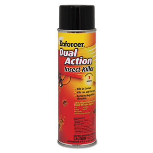 Enforcer Dual Action Insect Killer  For Flying Crawling Insects  17 oz Aerosol (AMR1047651EA)