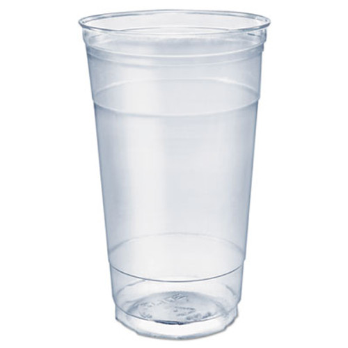 SOLO Cup Company Ultra Clear PETE Cold Cups, 32 oz, Clear, 300/Carton (DCCTC32)