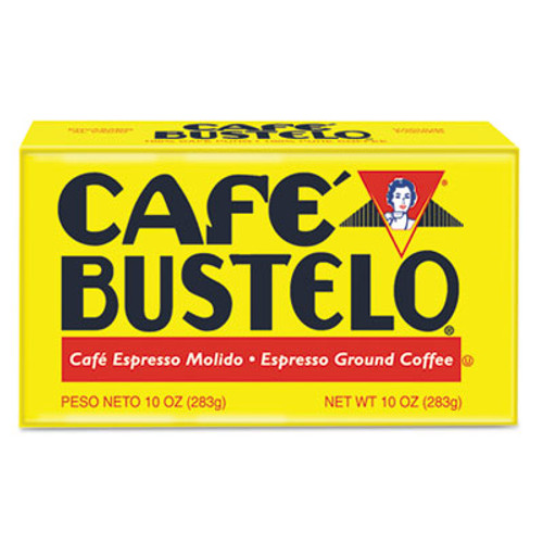 Caf?© Bustelo Coffee  Espresso  10 oz Brick Pack (FOL01720)