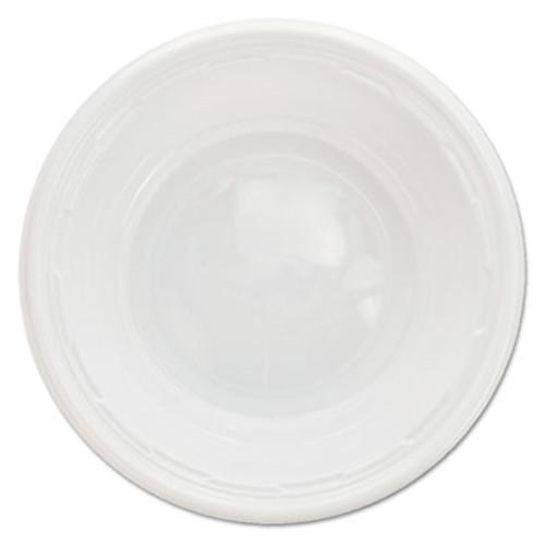 Dart Famous Service Impact Plastic Dinnerware  Bowl  5-6 oz  White  125 Pack (DCC5BWWFPK)