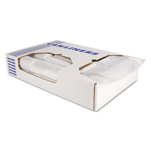 AccuFit Accufit Low-Density Can Liners  44 gal  0 9 mil  37 x 50  Clear  100 Carton (HERH7450TCR01)