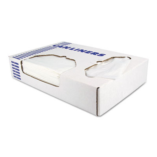 Heritage Linear Low-Density Can Liners  16 gal  0 35 mil  24  x 32   Clear  1 000 Carton (HERD4832RC)