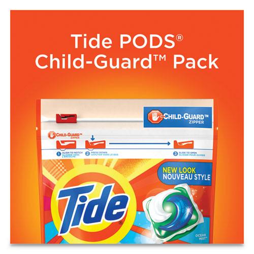Tide Pods  Laundry Detergent  Clean Breeze  35 Pack  4 Pack Carton (PGC93126CT)