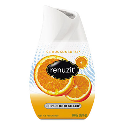 Renuzit Adjustables Air Freshener, Citrus Sunburst, 7 oz Cone (DIA35000)