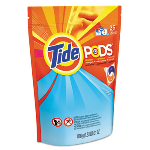 Tide Pods  Laundry Detergent  Clean Breeze  35 Pack (PGC93126EA)