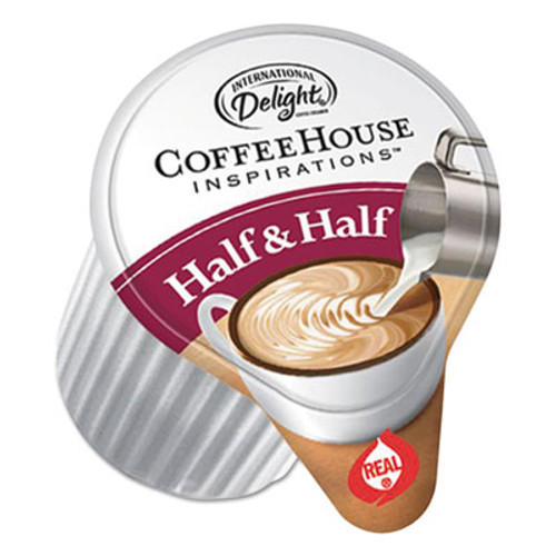 International Delight Coffee House Inspirations Half   Half   0 38 oz  180 Carton (ITD102042)