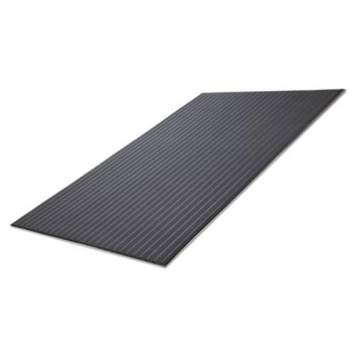 Crown Ribbed Vinyl Anti-Fatigue Mat  24 x 36  Black (CWNFL2436BK)