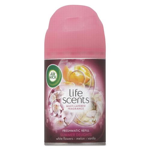 Air Wick Freshmatic Life Scents Ultra Refill  Summer Delights  5 89 oz Aerosol (RAC91101EA)