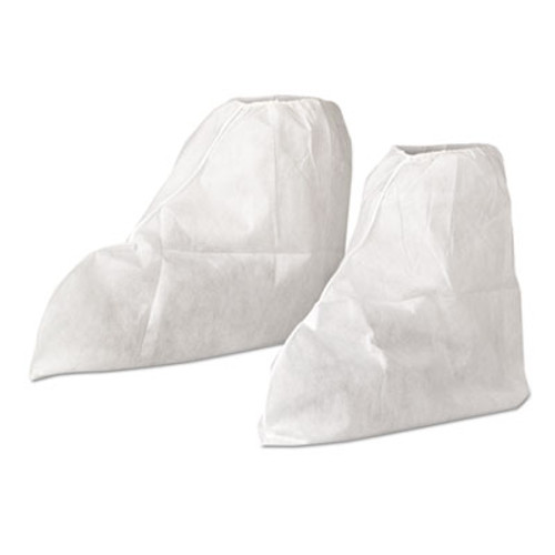 KleenGuard* A20 Boot Covers, MICROFORCE Barrier SMS Fabric, One Size, White, 300/Carton (KCC36880)