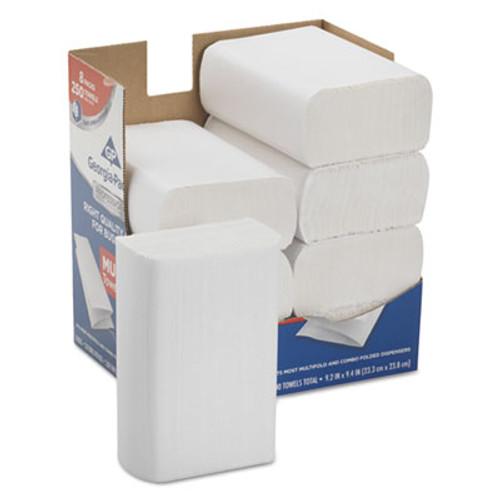 Georgia Pacific Professional Series Premium Paper Towels M-Fold 9 2 5x9 1 5  250 Bx  8 Bx Carton (GPC2212014)