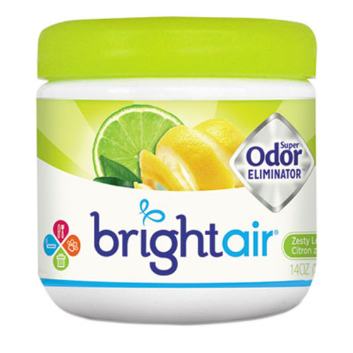 BRIGHT AirA Super Odor Eliminator, Zesty Lemon and Lime, 14 oz (BRI900248EA)