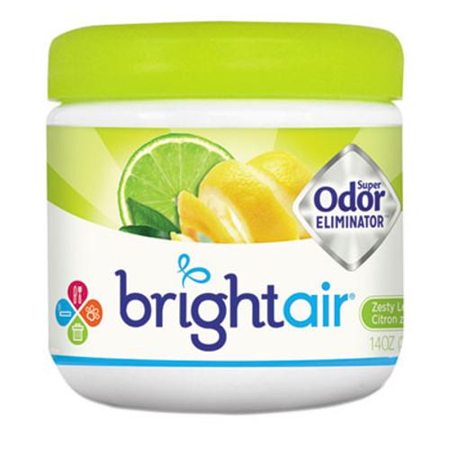 BRIGHT Air Super Odor Eliminator  Zesty Lemon and Lime  14 oz (BRI900248EA)