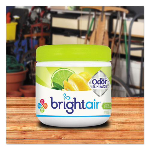 BRIGHT Air Super Odor Eliminator  Zesty Lemon and Lime  14 oz (BRI900248EA)