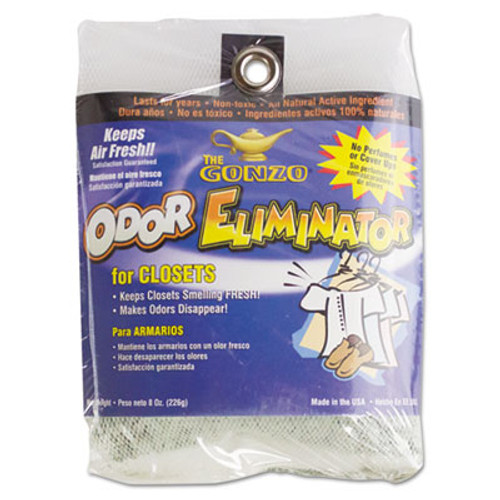 Gonzo Odor Eliminator, Volcanic Rocks, 8 oz Bag (WMN1012DEA)
