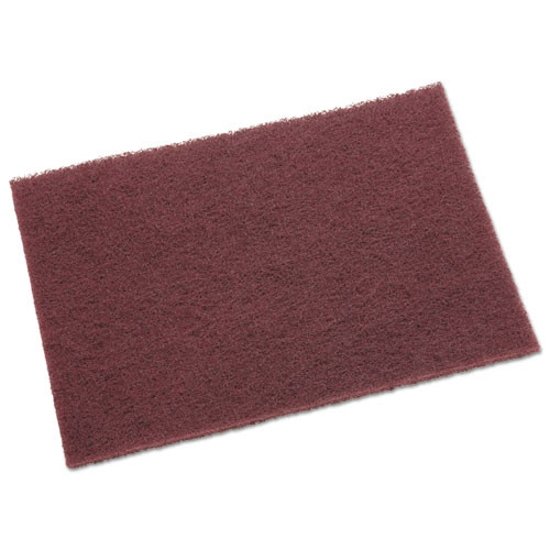 Scotch-Brite PROFESSIONAL General Purpose Hand Pad  6 x 9  Maroon  20 BX  3 BX CT (MMM04029)