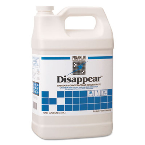 Franklin Cleaning Technology Disappear Concentrated Odor Counteractant  Spring Bouquet Scent  1 gal  4 Carton (FKLF510522)
