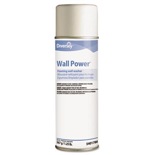 Diversey Wall Power Foaming Wall Washer  20 oz Can  12 Carton (DVO95401786)