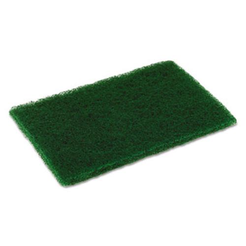 Disco Medium Duty Scouring Pad  6 x 9  Green  10 per Pack  6 Packs Carton (CMCMD6900)