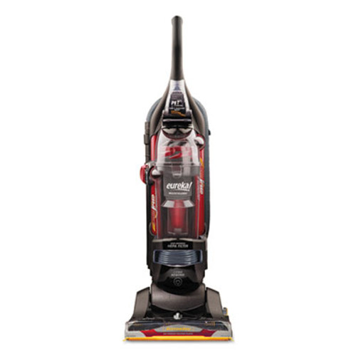 Eureka SuctionSeal Pet Upright, 20.7 lbs, 12 amp, Black/Red (EURAS1104A)