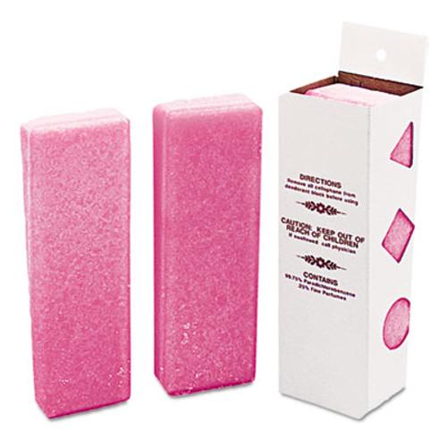 Boardwalk Deodorizing Para Wall Blocks  16 oz  Pink  Cherry  12 Box (BWKW16)