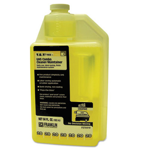 Franklin Cleaning Technology T E T   20 UHS Combo Floor Cleaner Maintainer  Citrus Scent  2qt  Bottle  2 CT (FKLF378419)