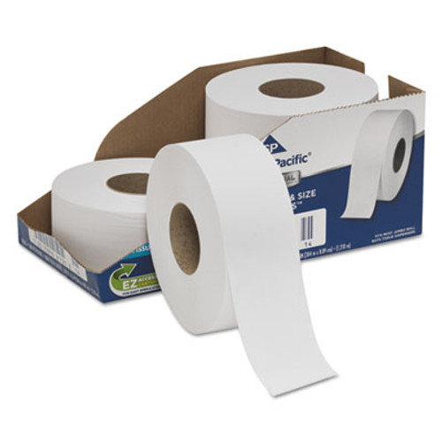 Georgia Pacific Professional White Jumbo Bathroom Tissue  Septic Safe  2-Ply  3 1 2 x 1000 ft  4 Carton (GPC2172114)