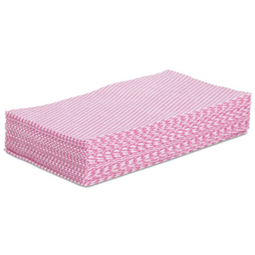 Boardwalk Foodservice Wipers  Pink White  12 x 21  200 Carton (BWKN8140)