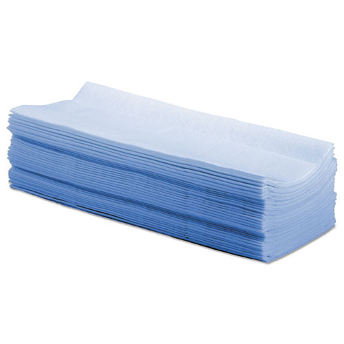 Boardwalk Hydrospun Wipers  Blue  9 x 16 75  100 Wipes Box  10 Boxes Carton (BWKP070IDB)