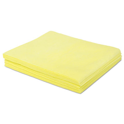 Boardwalk Dust Cloths  18 x 24  Yellow  500 Carton (BWKDSMFPY)