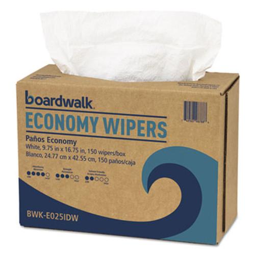 Boardwalk Scrim Wipers  4-Ply  White  9 3 4 x 16 3 4  900 Carton (BWKE025IDW)