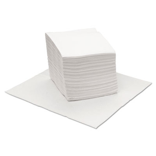 Boardwalk DRC Wipers, White, 12 x 13, 1008/Carton (BWKV040QPW)
